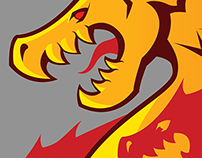 Komoka Dragons (logo design)