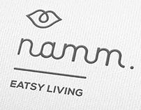 Namm Restaurant Naming, Concept and Brand.