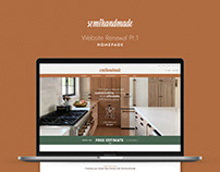 Website Renewal for Semihandmade
