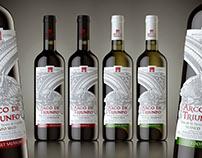 "Spanish wine ""Arco de Triunfo"""