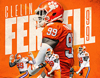 Daily Sports Designs 235–243 Clemson Tigers Football