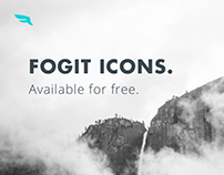 Fogit, free icon set