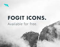 Fogit, free icon set