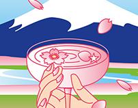 LUSH: SAKURA Poster