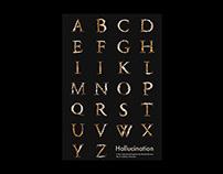 Hallucination | Experimental Typeface