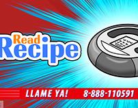 Read Recipe - Animación