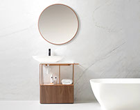 Pure Bathroom Collection