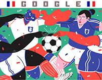 Goodle Doodle // Women's World Cup 2019