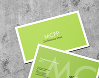 Business Card for Money Care Financial Planning