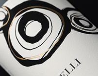 Tren Anelli Wine Label & Packaging