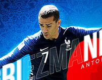 Antoine Griezmann World Cup 18