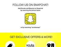 Snapchat landing page