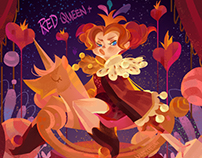 childish red queen