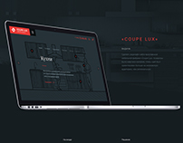WebSite - Coupe Lux