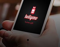 Hediyemo (Gift App.) (UI UX 2012)