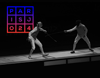 Olympic Games PARIS 2024 (Identity Concept)