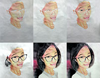 Watercolor Painting, a Chinese Friend (R)- Kamal Nishad