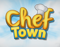 Chef Town Game Art
