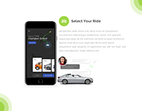 GORide - UI/UX Ride Booking Application