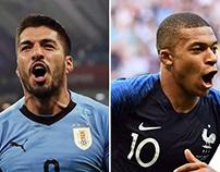 Soi kèo French vs Uruguay