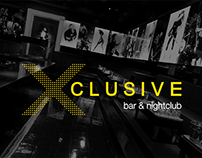 Total brand identity of Xclusive nightclub