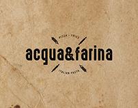 Acqua&Farina - Branding