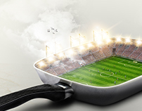 Soccer pan