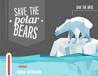 Polar Bear - Infografía Doodle
