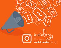 "INSTALOGY The best ""Social Media"" design"