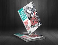Saturated Tattoo Magazine (Branding/Layout)