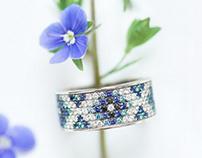 Photoshoot for ОBERIG jewelry