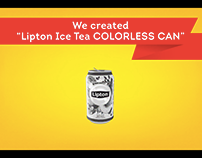 Lipton Ice Tea - Colorless Can
