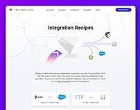 Treasure Data Integration Recipes Landing Page