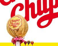 Chupa Chups Logo Dimensionalization