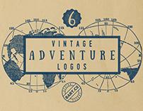 Vintage Adventure Logos