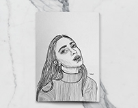Portraits (Ink-Handdrawn)