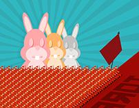 John Rabbit y la Revolución de los Conejos.
