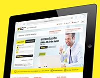 Raiffeisen Bank DirektNet redesign concept