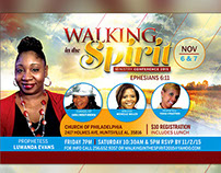 Walking in the Spirit Conference Flyer