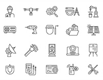 Engineering Vector Icons