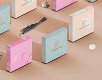 Cosmetica brand design.