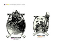 Characters photo illustration