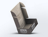 Carton Box Mock-Up