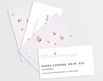 Everyday Mother's Intuition Business Card Design