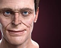 3D Portrait_Willem Dafoe
