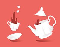 Tea time tragedy
