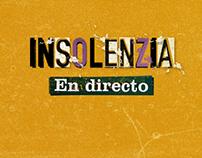 """Insolenzia """"En directo"""""""
