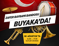 Buyaka Shopping Mall - 30 August Band