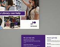 Library Enquiries team postcard