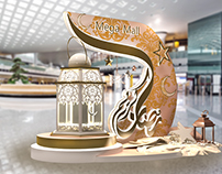 Mega Mall Sharjah (UAE) Ramadan Decoration